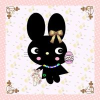 Lovely Easter Bunny by mymelody1