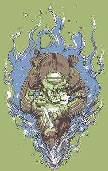 Bioshock Threadless Entry by MorganLuthi