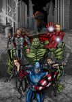 The Avengers by allistermac