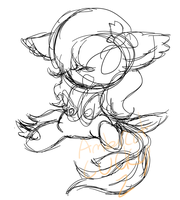Chibbii comission wip by Ambercatlucky2