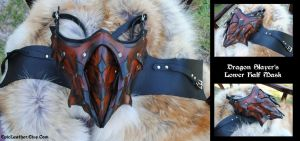 Dragon Slayers Lower Half Mask by Epic-Leather