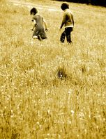 Childhood dreams in sepia by Tricia-Danby