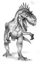 Allosaurus by Sesroh