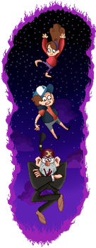 Gravity Falls - Falls Once Again by Dampfen
