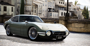 Toyota 2000GT by StrayShadows