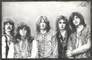 Deep Purple - portrait by janston