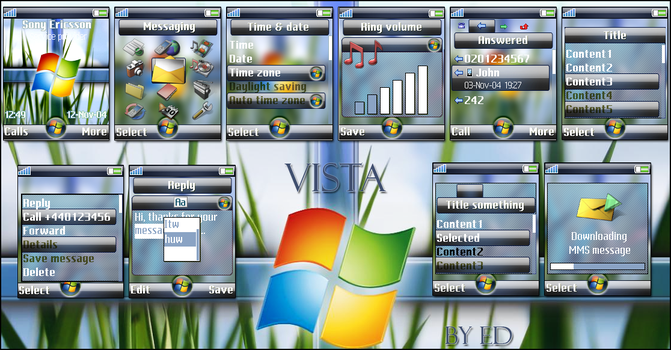 Windows Vista by Ed by Edthegooseman