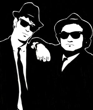 The Blues Brothers by LotyLauda