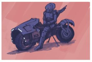 Motor Cycling by StretchTagger