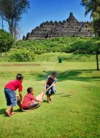anak-anak borobudur by indonesia