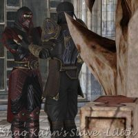 Ermac and Rain by ShaoKahnsSlaveLilith