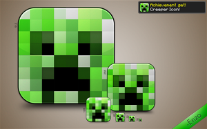 Creeper Icon by EnzoFX