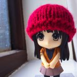 Red beanie by jbrowneuk