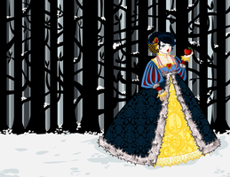1540s Snow White by labrattish