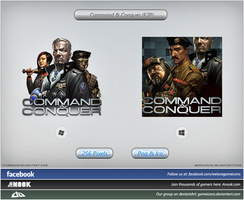 Command and Conquer (F2P) - Icon by Crussong