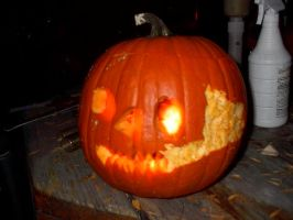My Brother's Pumpkin 1 by Flame22