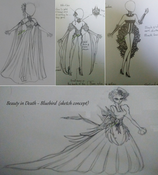 Fashion Sketches 1 by iCat00