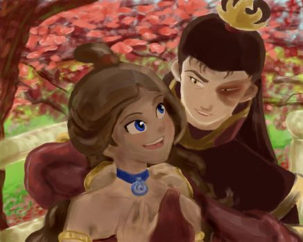 Zutara Engagement by Iperher