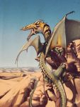 Desert Dragon by f0xyme