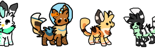 Closed free adopts by alfvie