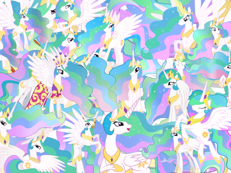 Too Much Celestia by X-TURENT