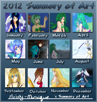 2012 Art Summary by Melody-Musique