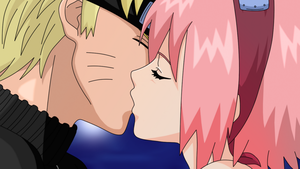 it's just a kiss Sakura-Chan by HayabusaSnake
