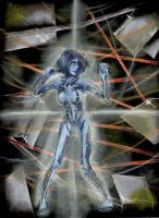 Cortana by Corruleum