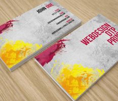 Abstract Modern Business Card by env1ro