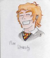 Ron Weasley by ThroughMyThoughts