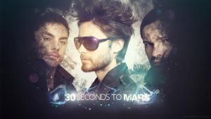 30 Seconds to mars wallpaper by iEvgeni