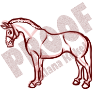 Dressage Horse WIP by SavingSeconds