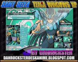 Dragon Shiryu Theme Windows XP by Danrockster