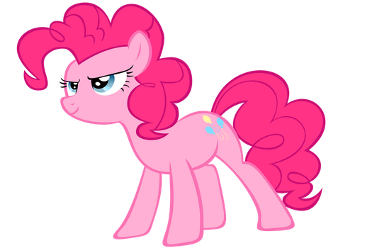 Pinkie's Ready(No Suit) - Vector by GuruGrendo
