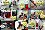 Cooking with Deadpool by ScarletVulture