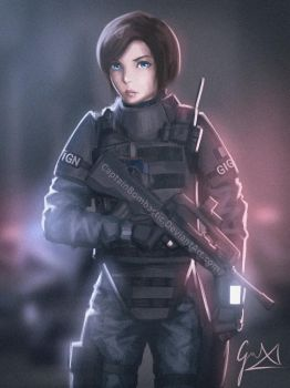 Twitch - Rainbow Six: Seige by CaptainBombastic