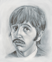 Ringo Starr by gregchapin
