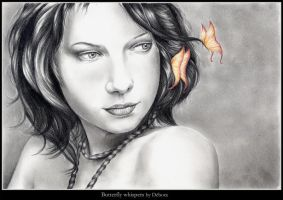 Butterfly Whispers by nabey