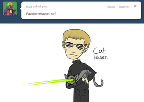 Ask Wesker 8 by MintMongoose