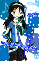 Happy Birthday Yuki by Kurai-Kogami24