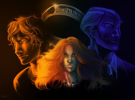 The Mortal Instruments Trilogy by palnk