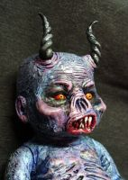 Akael Demon Child ROT TOT CU by Undead-Art