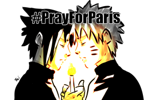 #PrayForParis by Feiuccia