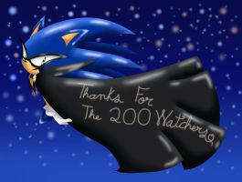 Thanks For The 200 Watchers by SweetSilvy