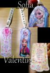 Frozen Bookmark! by Sofia-Valentine