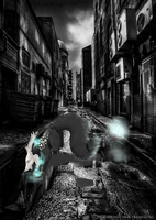 One More Dark Alley by painted-wolf-art
