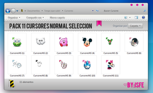 Normal Selection cursors by Isfe