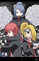 Naruto+Akatsuki: The artists by The-PirateQueen