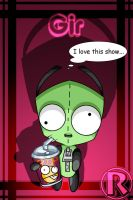GIR I love this show by rongs1234