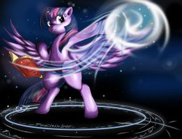 Epic Twilight Sparkle Colored by Suirano